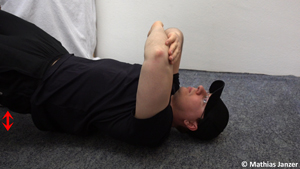 Um Schmerzen in der Schulter lösen zu können ist Progression wichtig