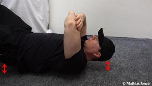 Schmerzen in der Schulter und eine weitere Progression